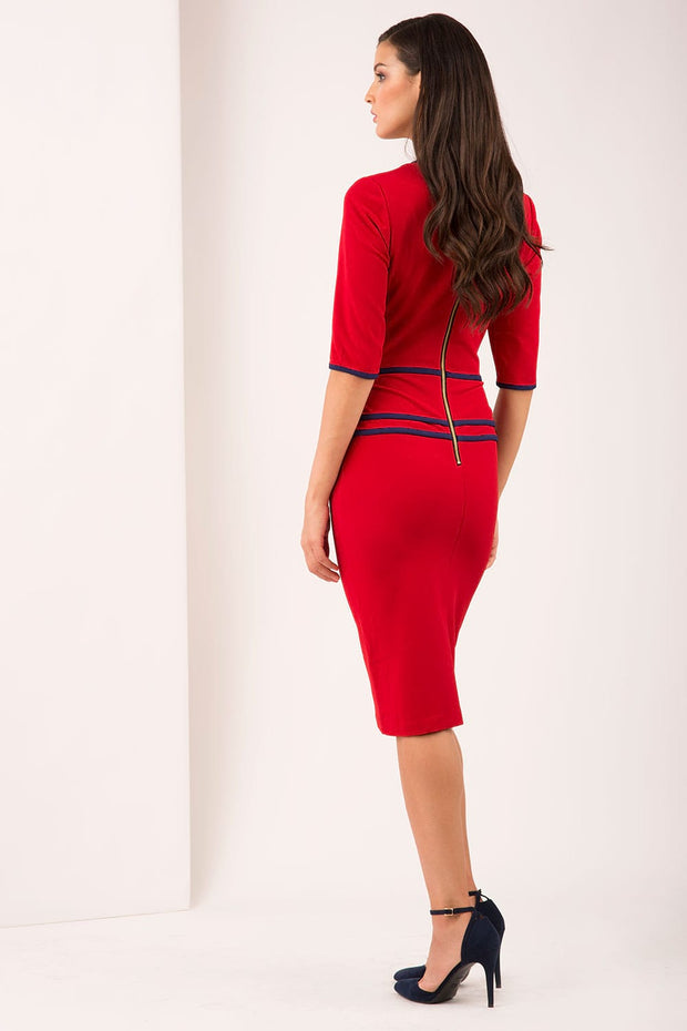 Velma Peplum Dress