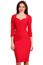 Vivian 3/4 Sleeved Dress