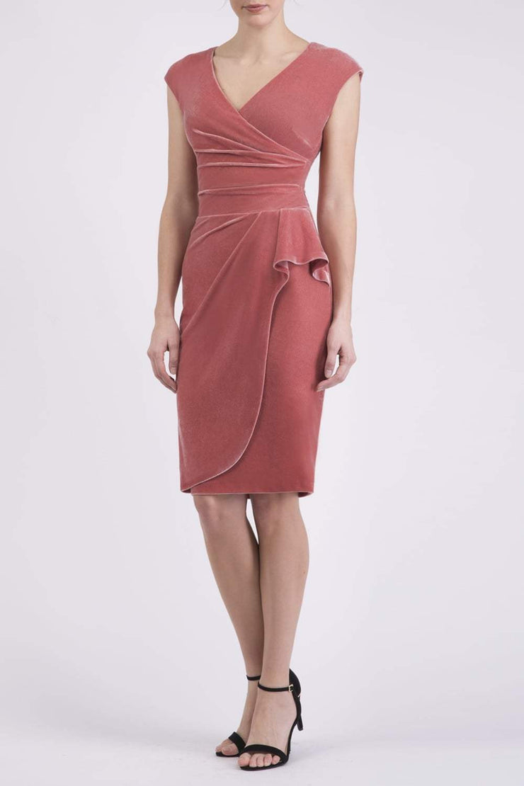 Heston Velvet Dress