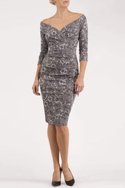 Catherine Jacquard Dress
