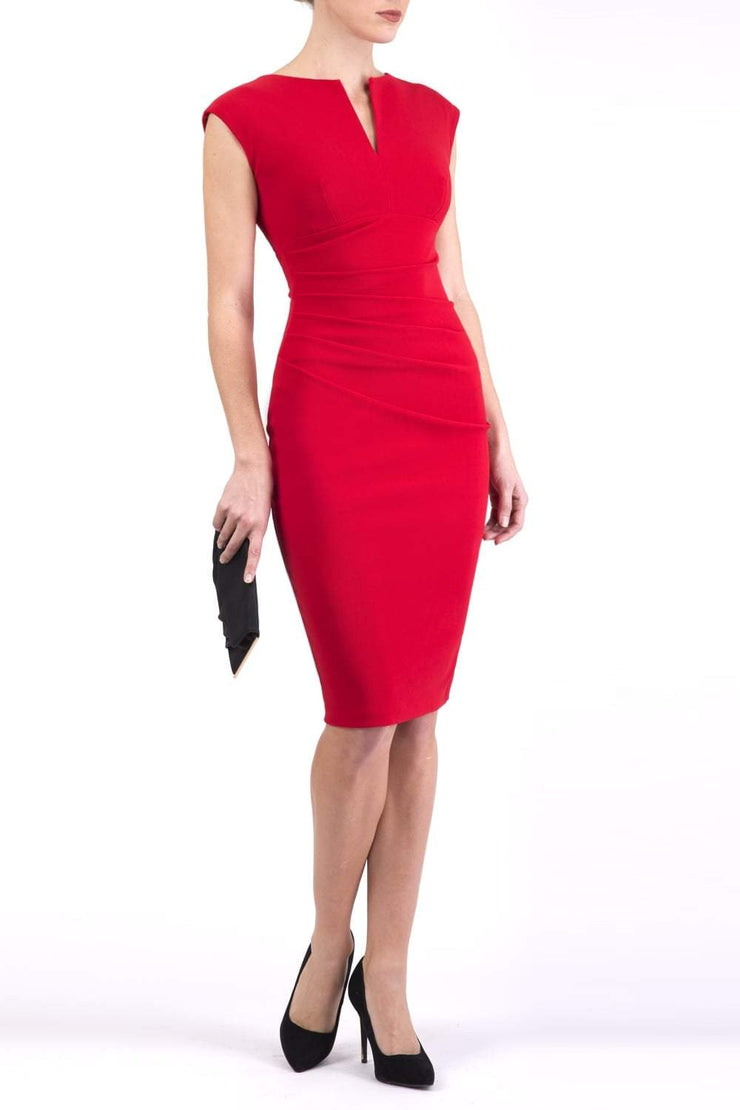Lydia Sleeveless Pencil Dress