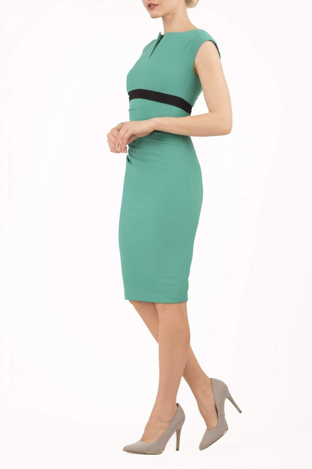 Nadia Band Sleeveless Dress