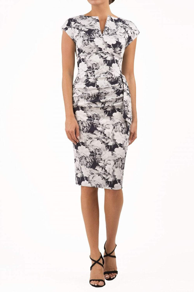 Ogle Floral Jacquard Dress