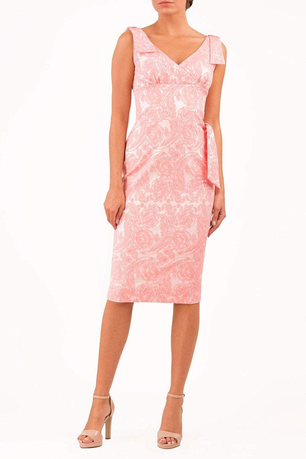 Malvern Floral Jacquard Dress