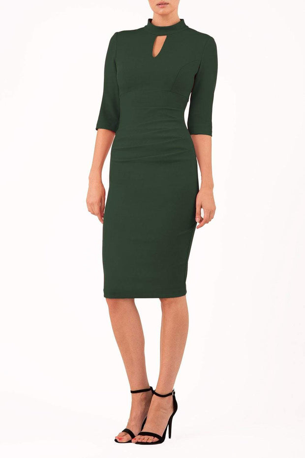 Pinhoe Keyhole Pencil Dress