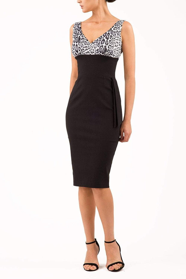 Malvern Leopard Print Dress