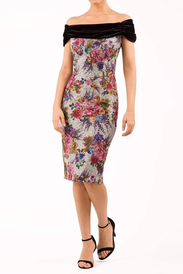 Verdana Matilda Jacquard Dress