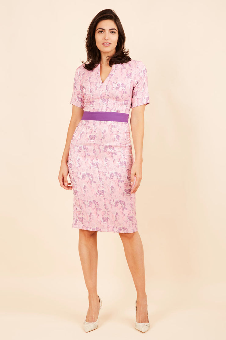 Floella Jacquard Dress