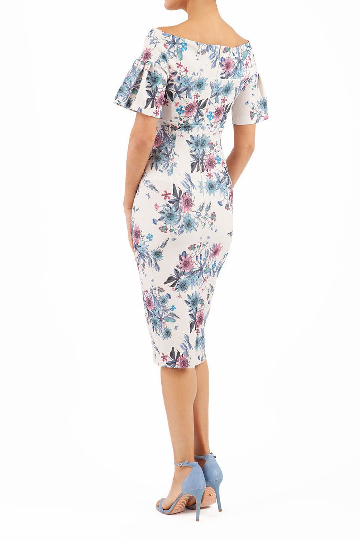 Mustique Botanical Print Dress
