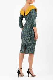 Eliza Triangles Print Dress