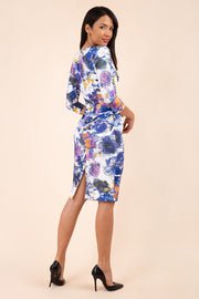 Triton Sleeved Floral Dress