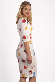 Cynthia Floral Print Dress