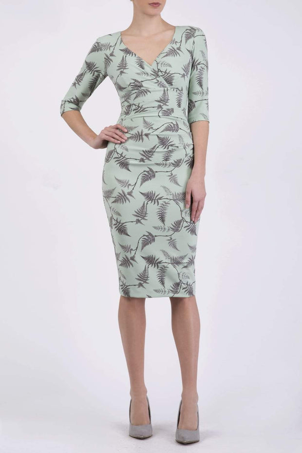 Cynthia Print Dress