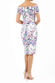 Manderley Contour Stretch Print Dress