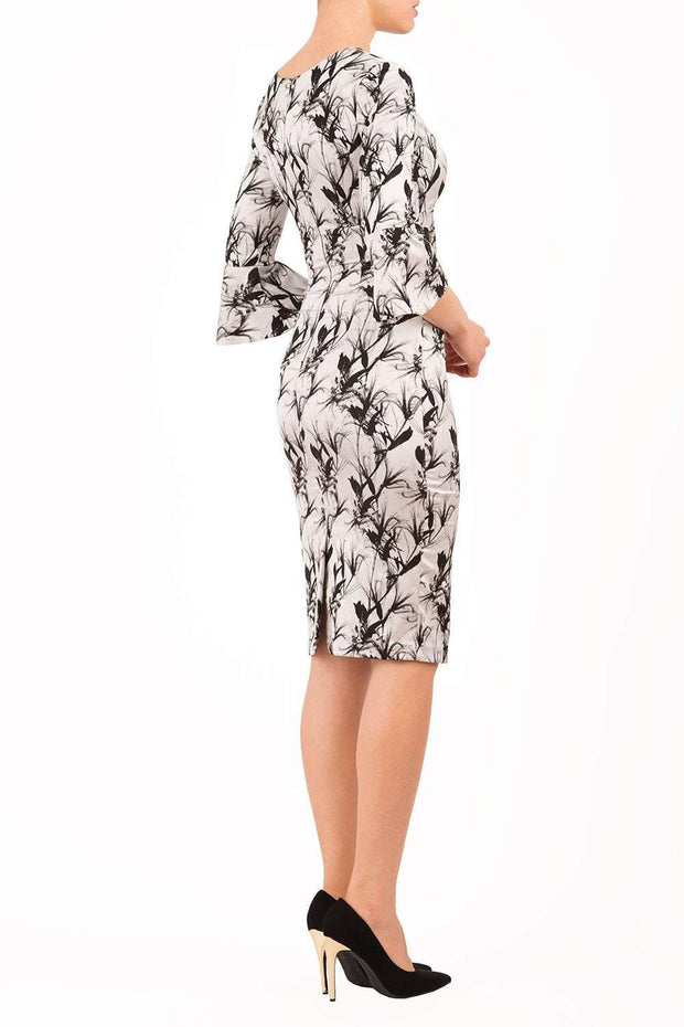 Durham Meadow Jacquard Dress