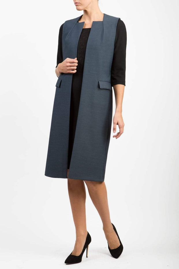 Seed Harvard Sleeveless Coat