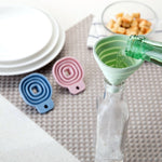 Collapsible Small Silicon Funnel