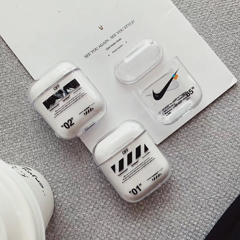Nike Off-White Airpods Case