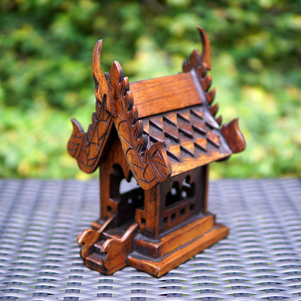 Rahmm Thai Teak Wood Spirit House