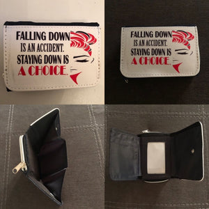 Falling Down Is An Accident  SMALL WALLET