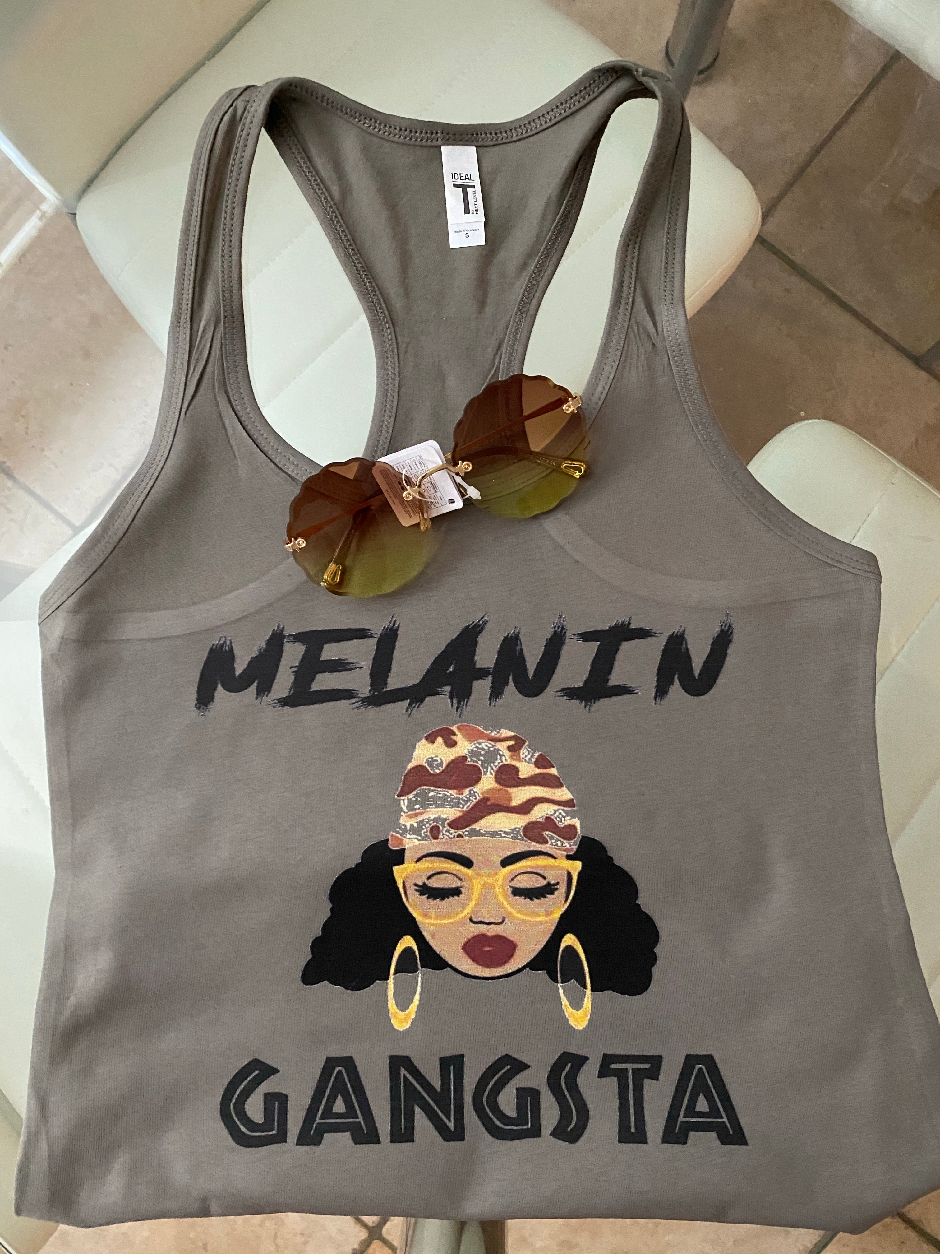 Melanin Gangsta Tank Top