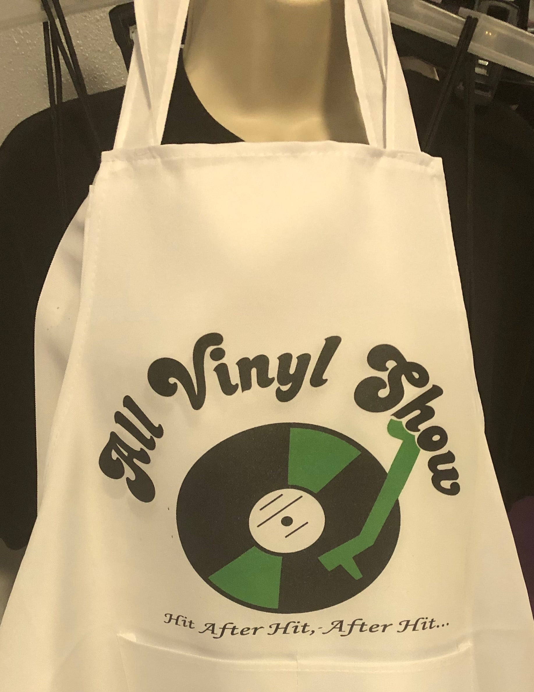 All Vinyl Show Aprons Personalized