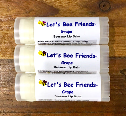 Grape Lip Balm (3 Pack) 🍇🍇🍇