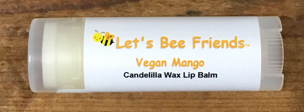 All natural and organic lip balm. Vegan Mango