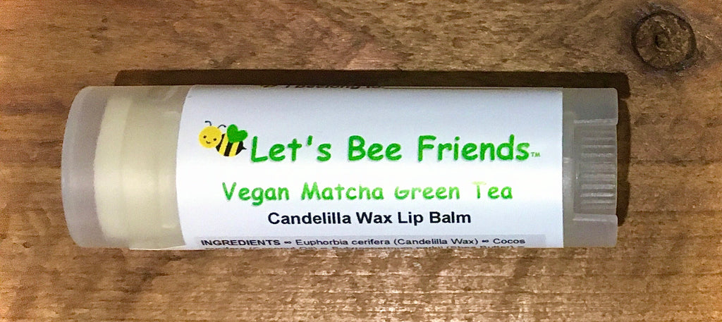 Vegan Matcha Green Tea Lip Balm