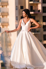 2020-outdoor-satin-bride-dresses-with-beaded-back