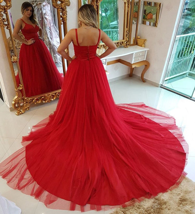 a-line-red-tulle-prom-gown-with-double-shoulder-straps-1