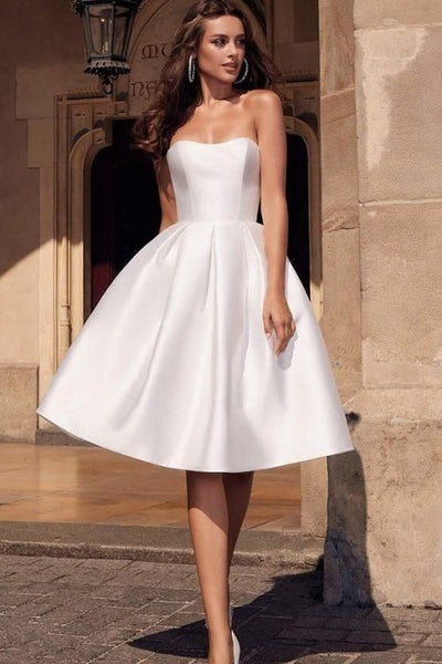 a-line-satin-knee-length-wedding-dress-with-backless-corset