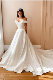 a-line-satin-long-train-bridal-gown-off-the-shoulder