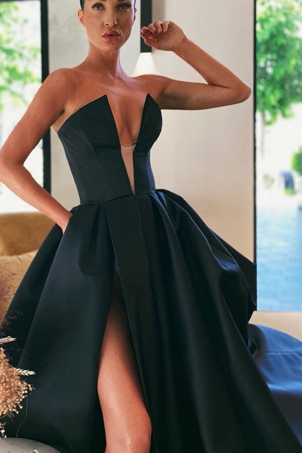 backless-satin-black-prom-gowns-with-pockets-2020-1