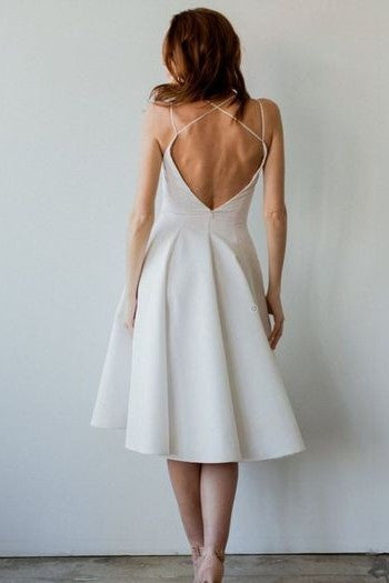 backless-short-informal-bridal-gown-with-v-neckline-1