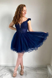 beaded-lace-tulle-skirt-homecoming-short-dresses-off-the-shoulder-2