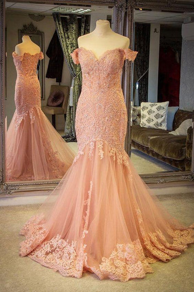 blush-pink-lace-mermaid-evening-gown-dress-with-off-the-shoulder