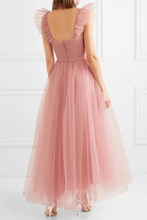 blush-pink-prom-dress-ankle-length-ruched-tulle-skirt-1