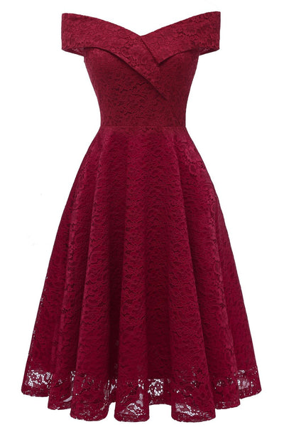 burgundy-lace-bridesmaid-gown-short-party-dress-with-off-the-shoulder