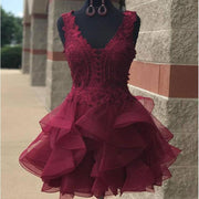 burgundy-lace-short-homecoming-gown-with-horsehair-skirt-2