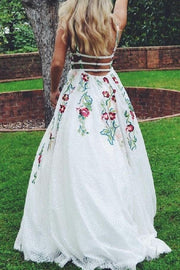 colorful-embroidery-lace-prom-dresses-with-v-neckline-1
