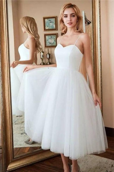 corset-back-midi-length-bride-dress-with-thin-straps