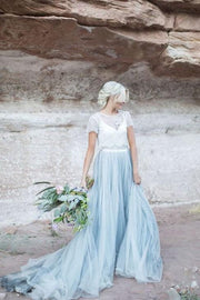 dusty-blue-tulle-wedding-dress-with-removable-lace-top-3