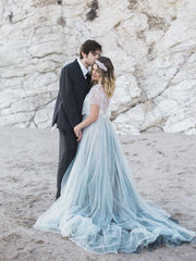 dusty-blue-tulle-wedding-dress-with-removable-lace-top-4