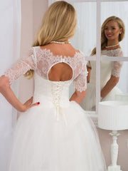 floor-length-tulle-ivory-wedding-gowns-with-lace-off-the-shoulder-2