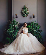 full-tulle-skirt-wedding-gown-with-rhinstones-off-the-shoulder-1