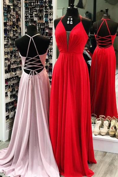 halter-chiffon-long-prom-dresses-with-lace-up-back
