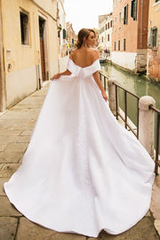 lace-embroidered-white-wedding-gown-with-shoulder-to-shoulder-neckline-1