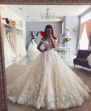 lace-garden-inspired-wedding-gown-with-off-the-shoulder-1