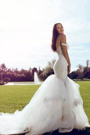 lace-off-the-shoulder-mermaid-wedding-dress-with-layered-tulle-skirt-1
